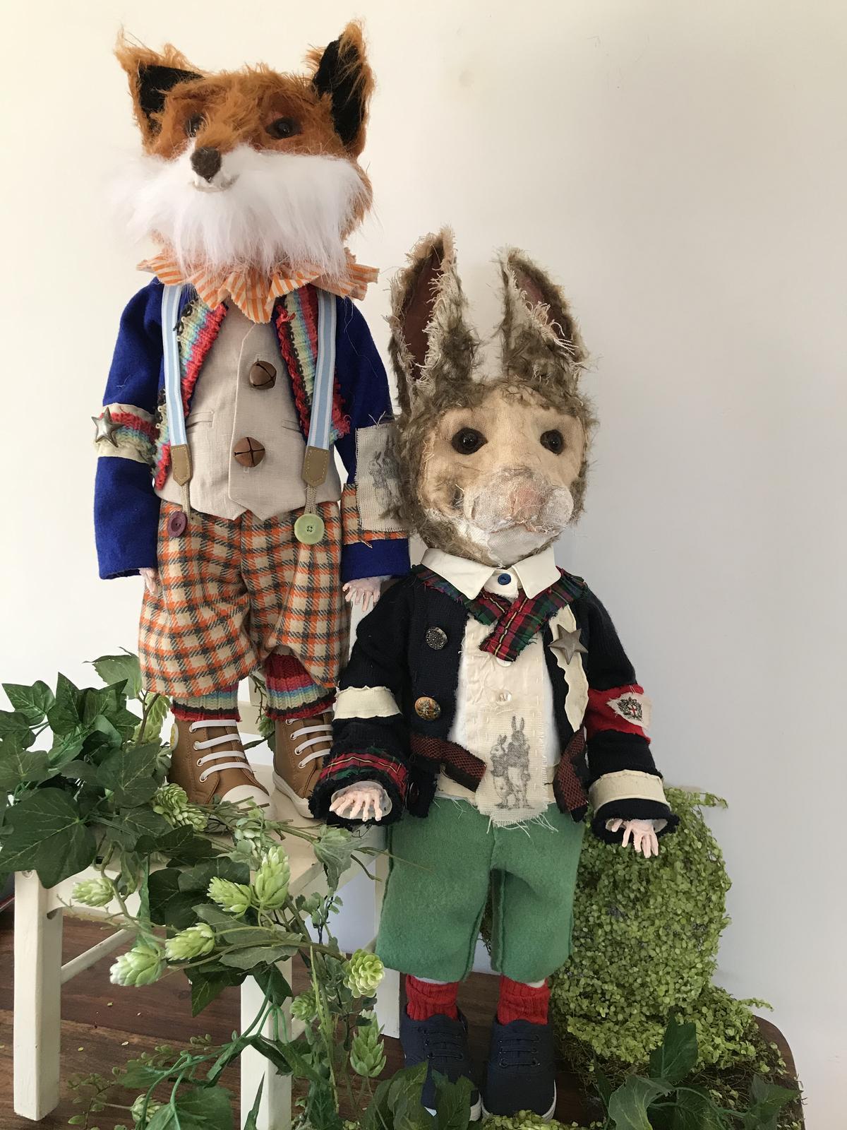 Anthro Rabbit / Fox