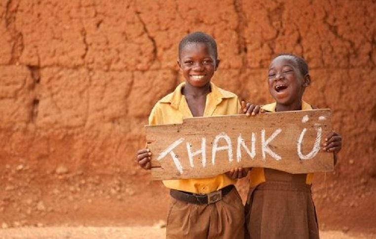 Oxfam Australia - Thank You