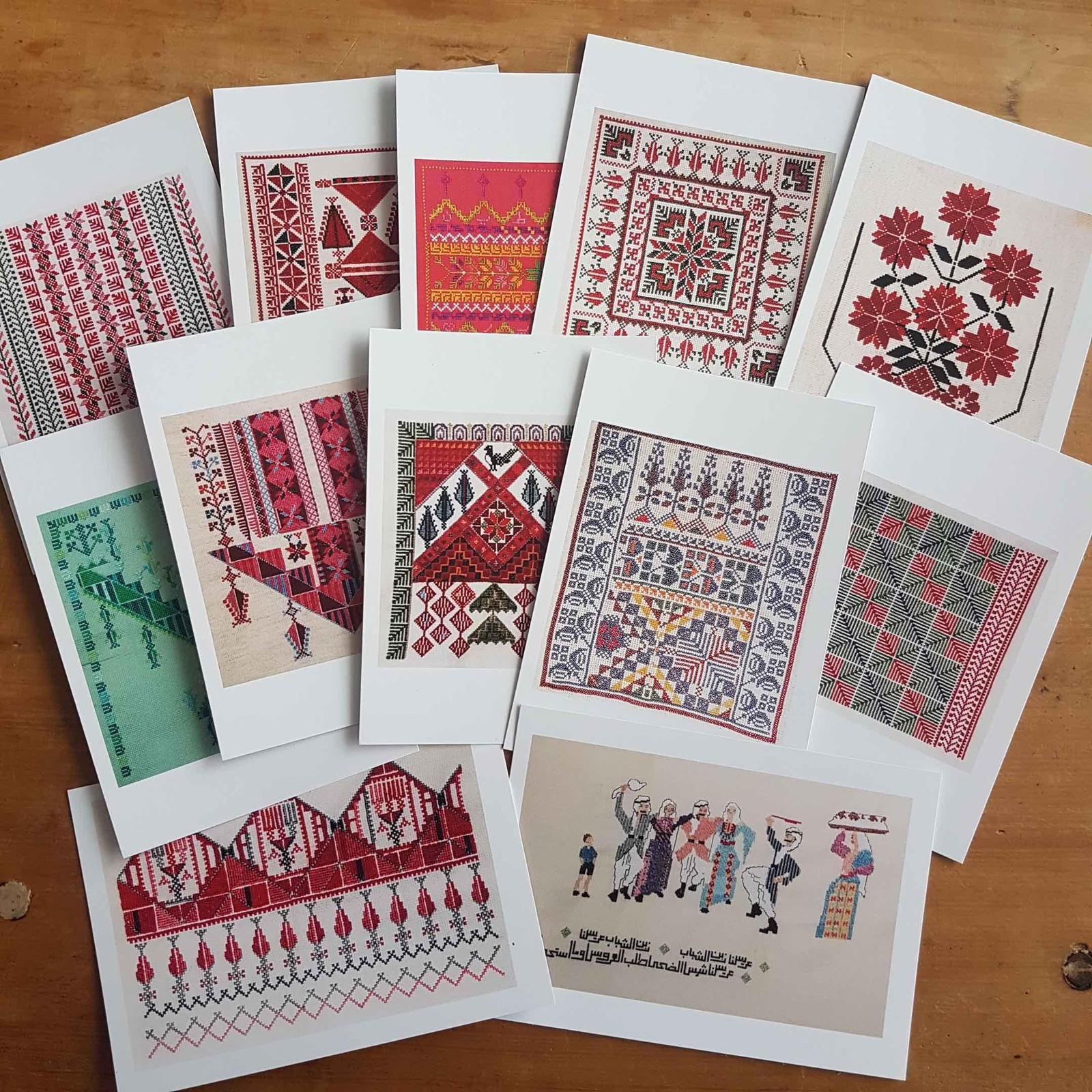 "Tatreez ""Embroidery"" Pstcards and greeting cards"