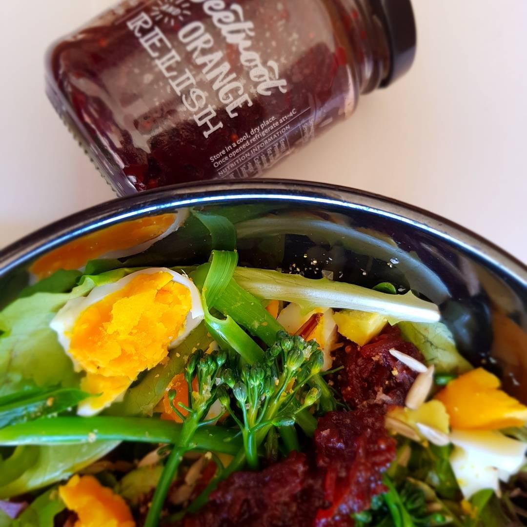 Beetroot and Orange relish
