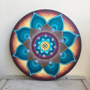 Painted Lotus Art