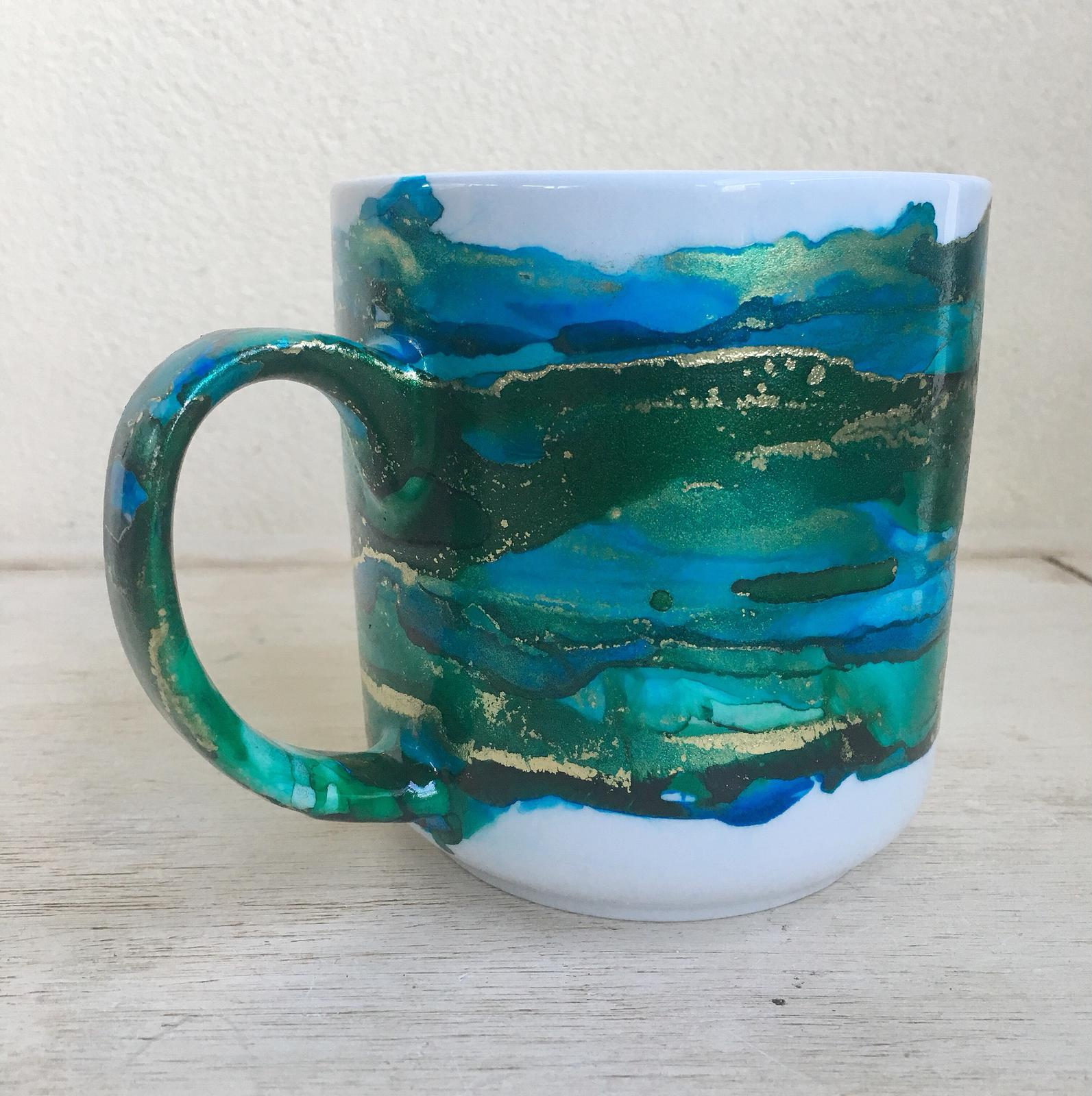 Alcohol Ink Mug