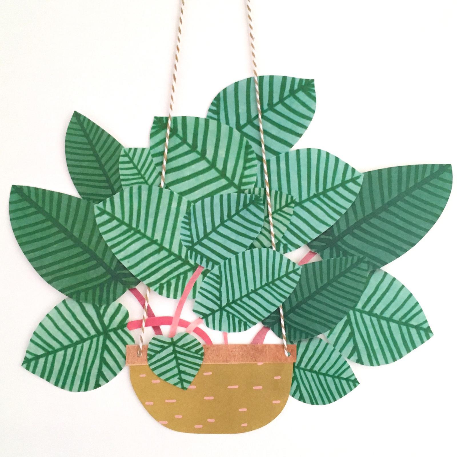 Paper Hanging Basket 2