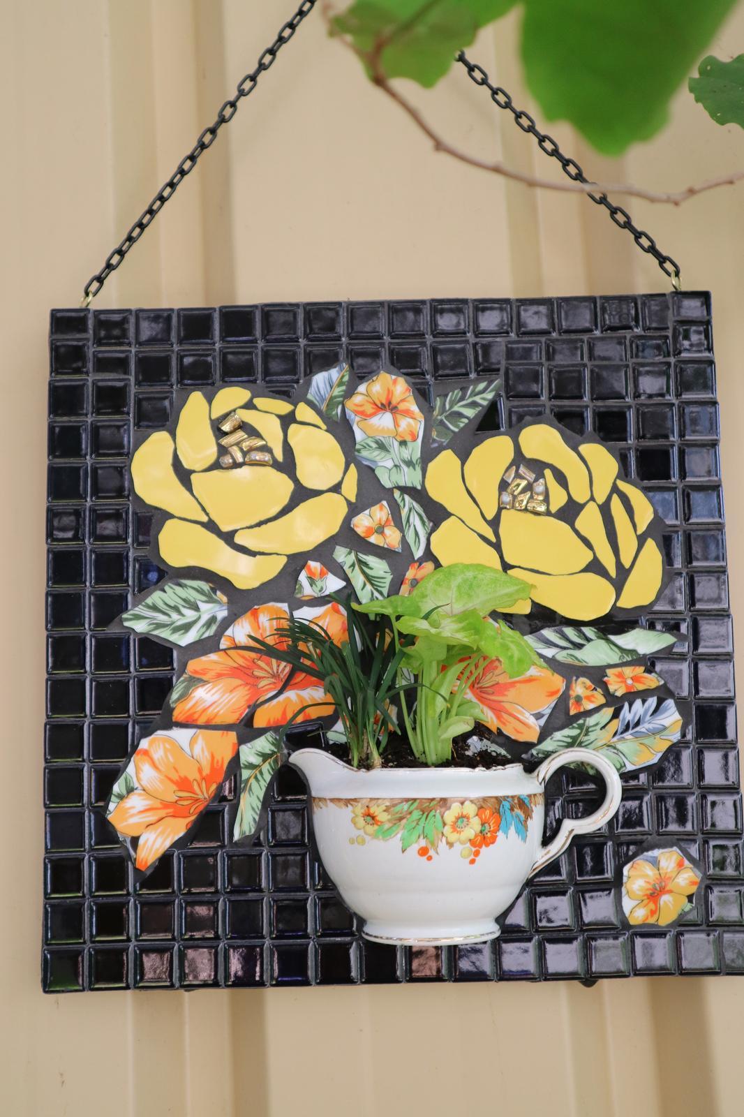 Yellow Roses Mosaic