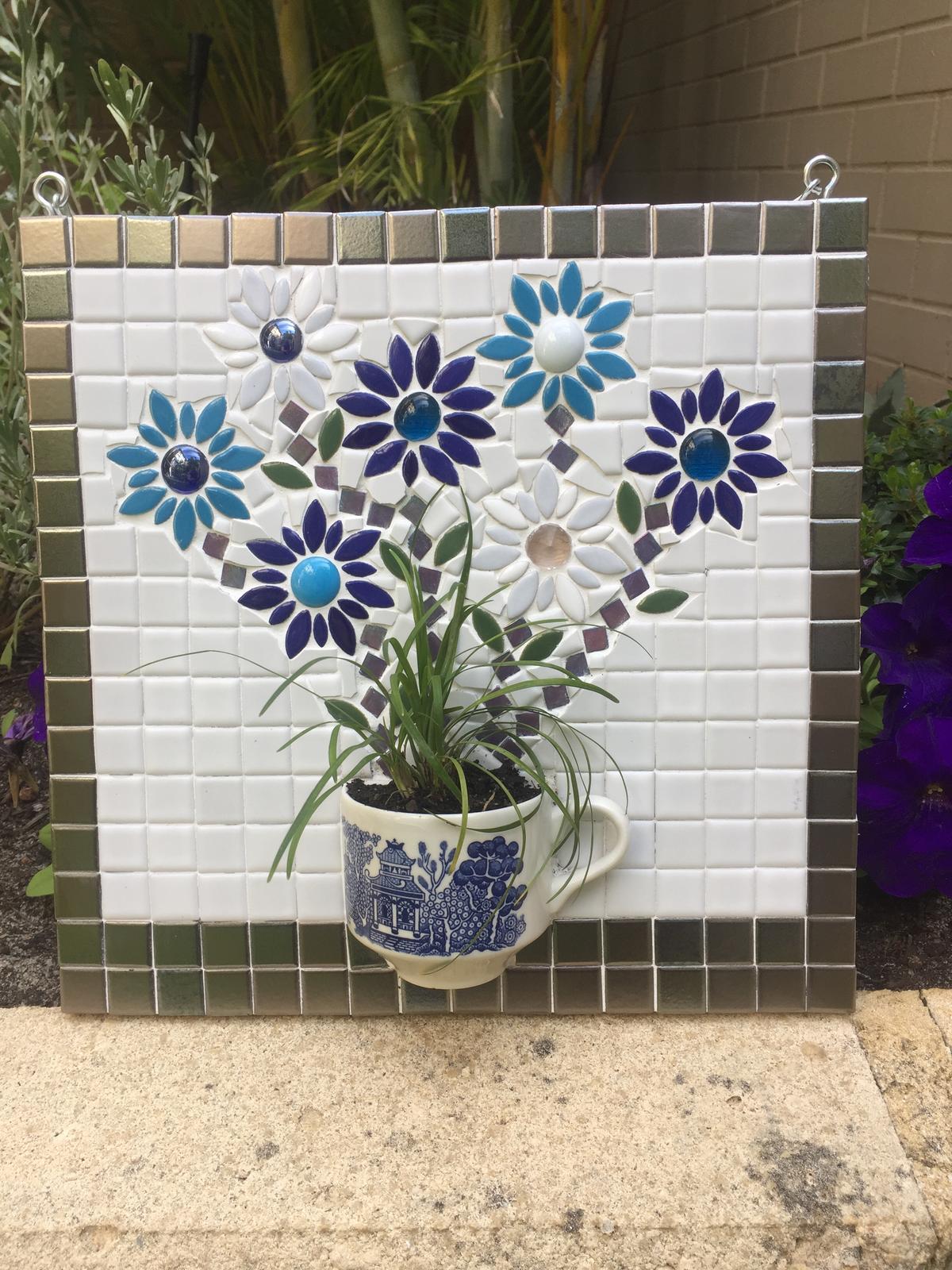 Blue Dutch Mosaic