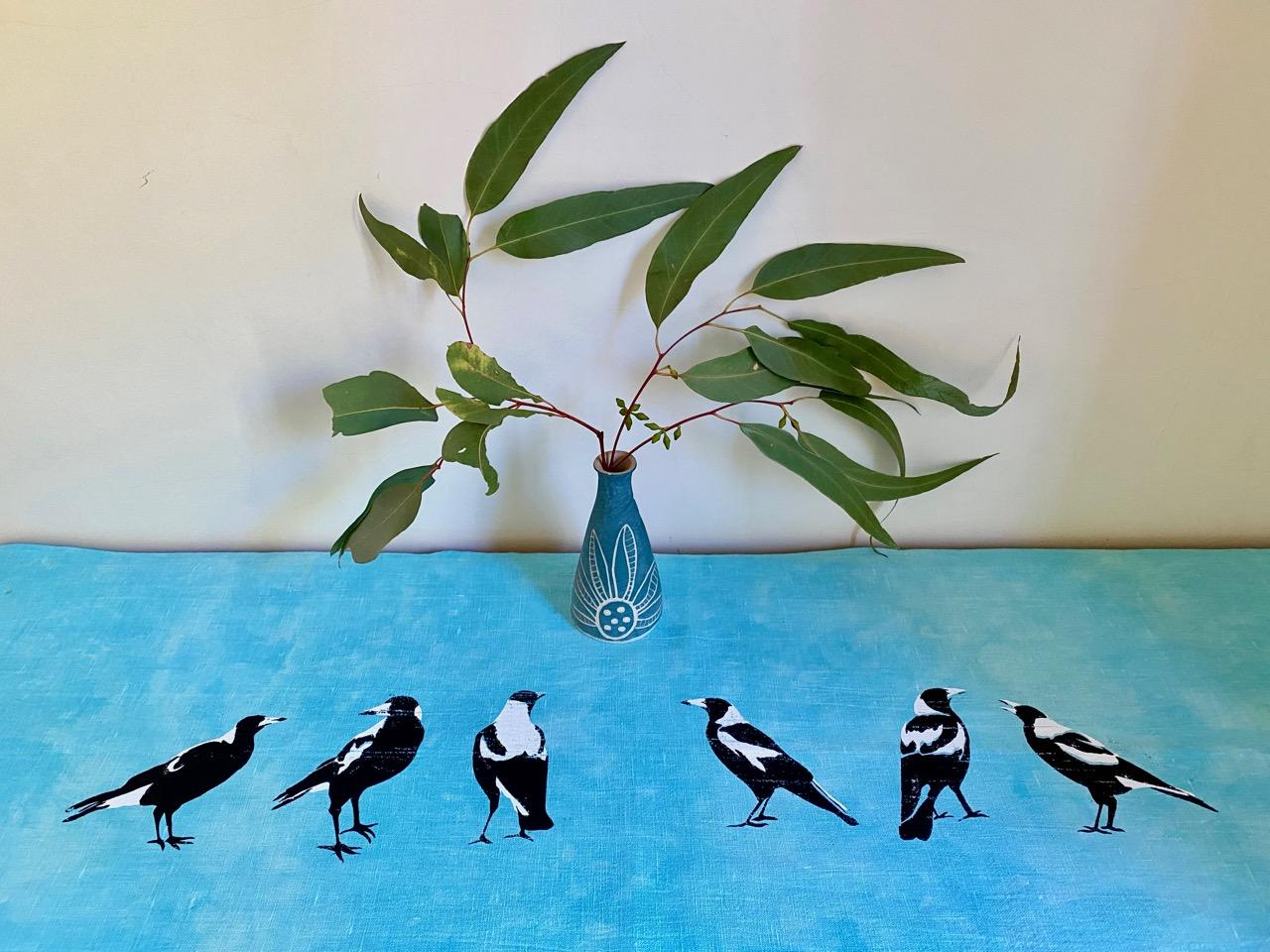 Magpie Table Runner