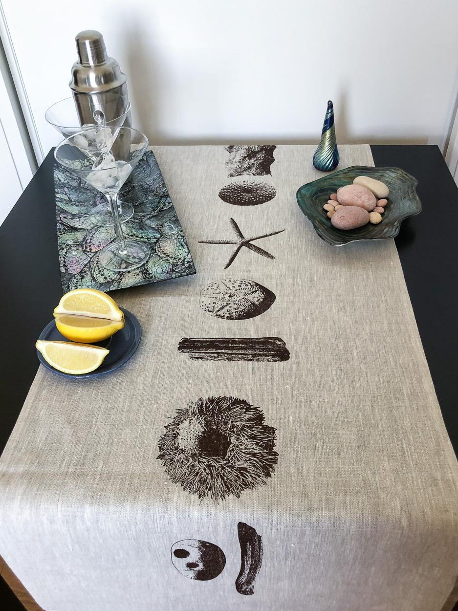 Beach Treasures Table Runner