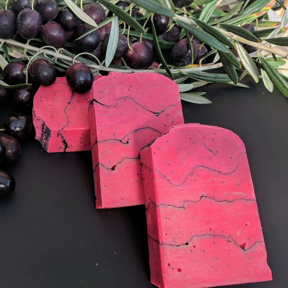 Red Poppy - Olive Oil Soap