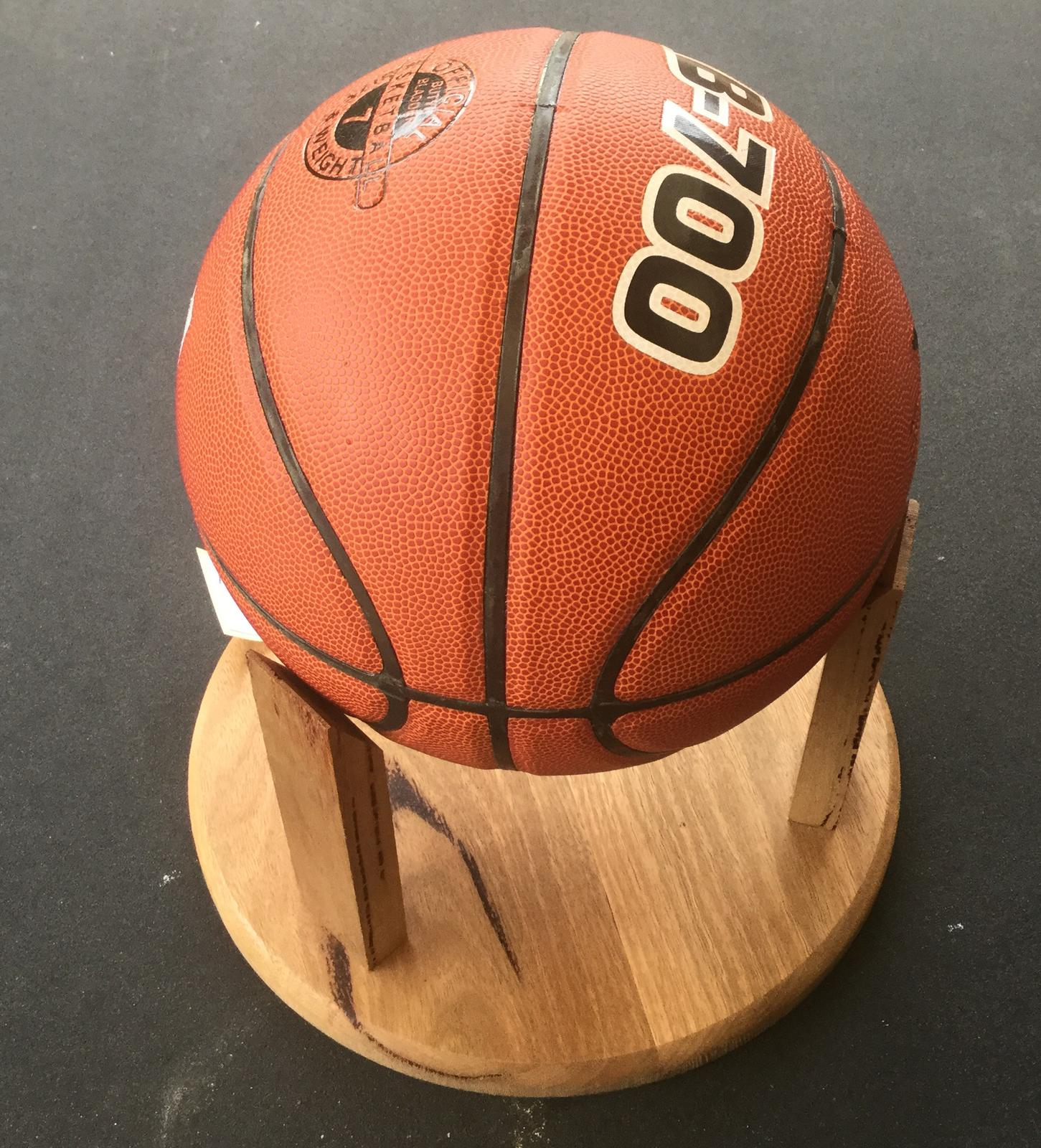 Display stands for basketballs