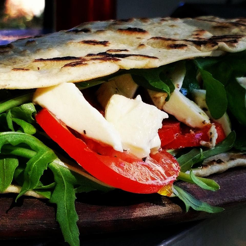 Piadina with Prosciutto