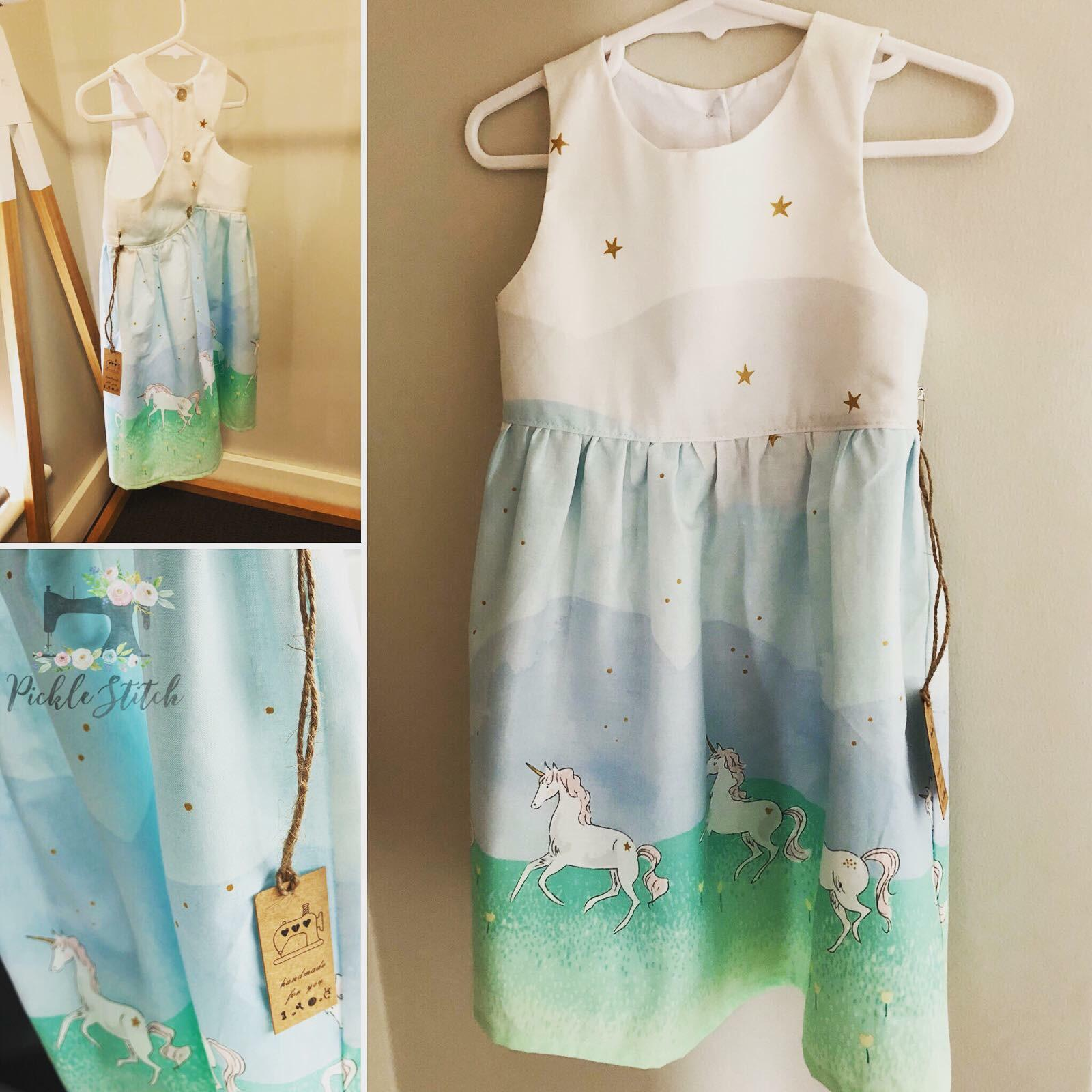 Unicorn Tea Party Dress