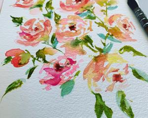 Pink Blossom Art