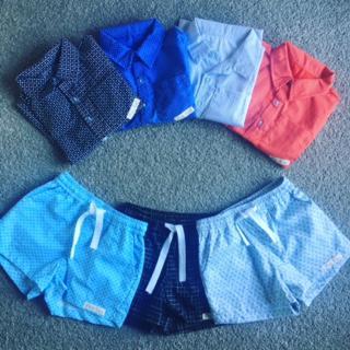 Boys Shirts and Short Sets