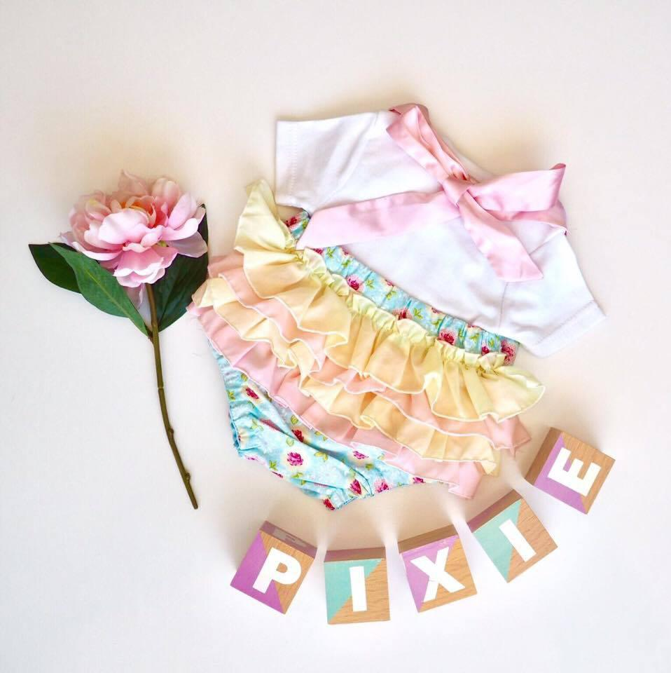 Lilly Ruffles Rompers