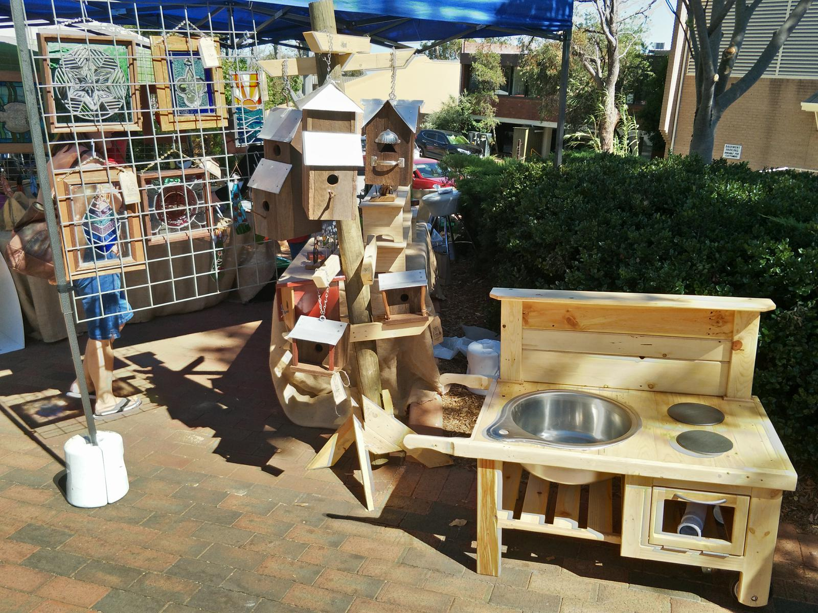 Birdhouses/Mud Kitchen