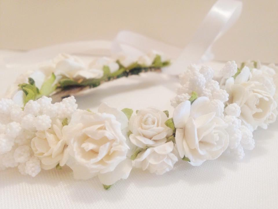 Flower girl/Bridal Flower crown