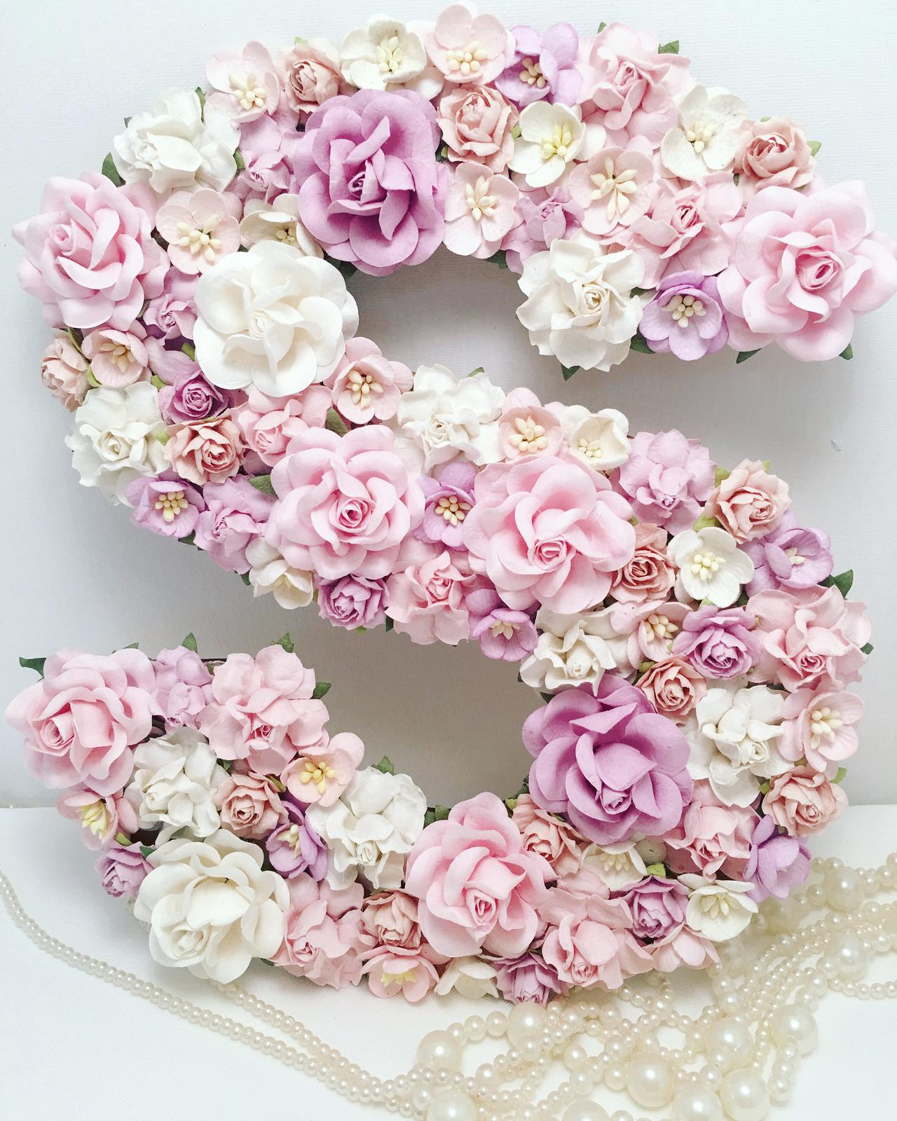 25cm cherry blossom and roses