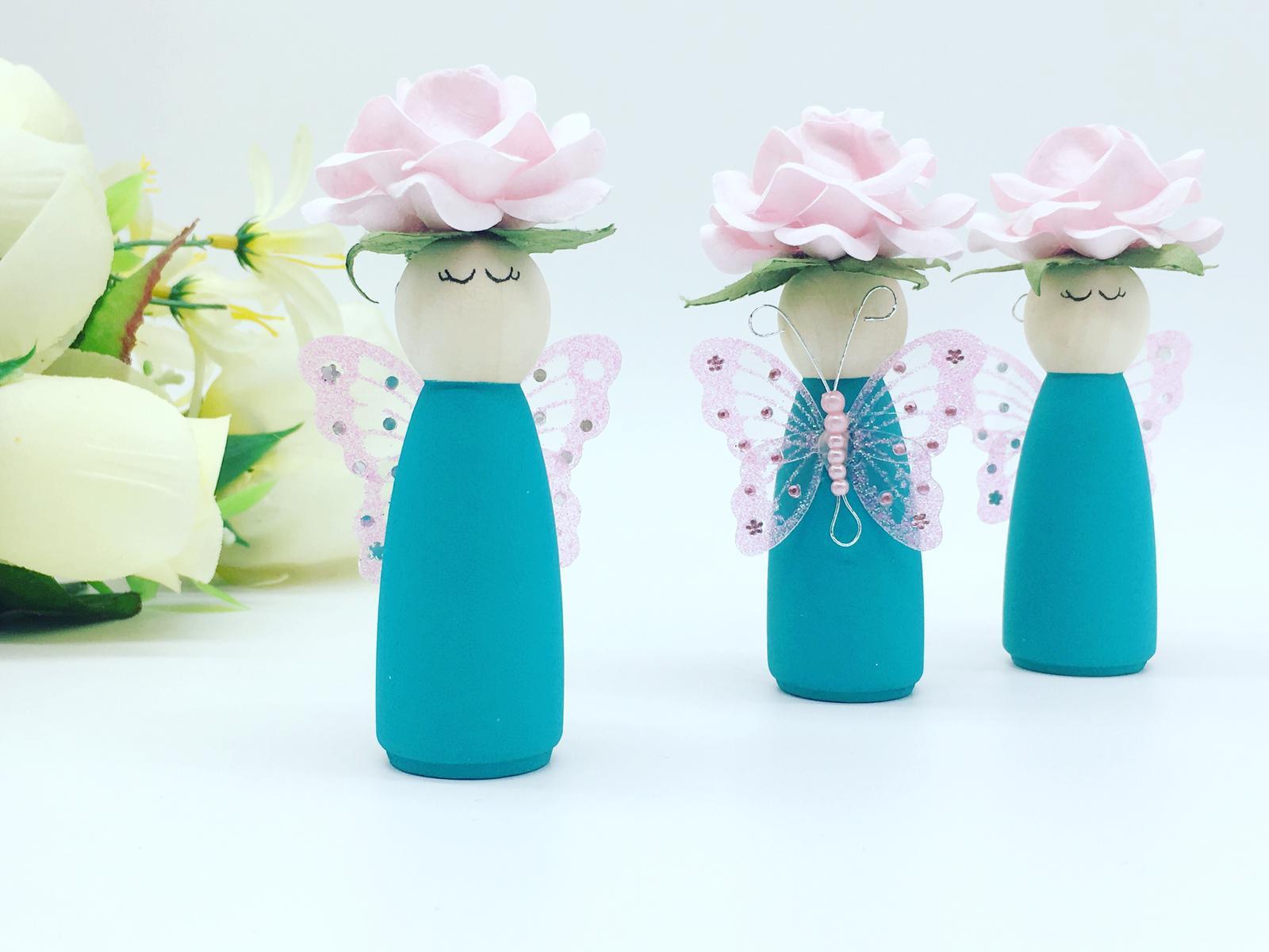 Pastel Peg Dolls