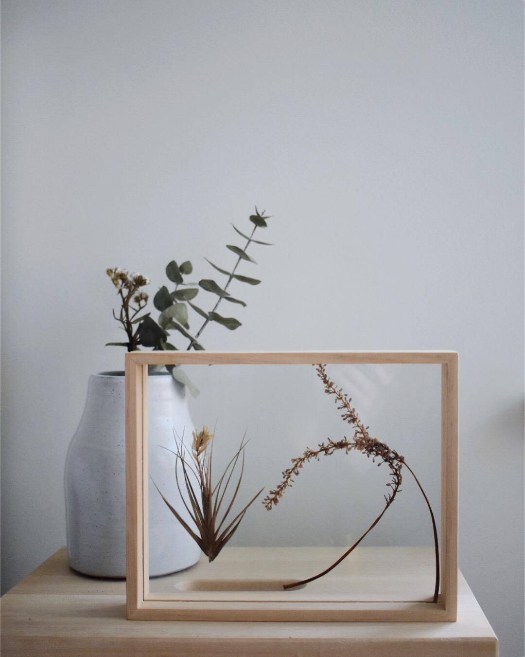 Wooden frame, native design