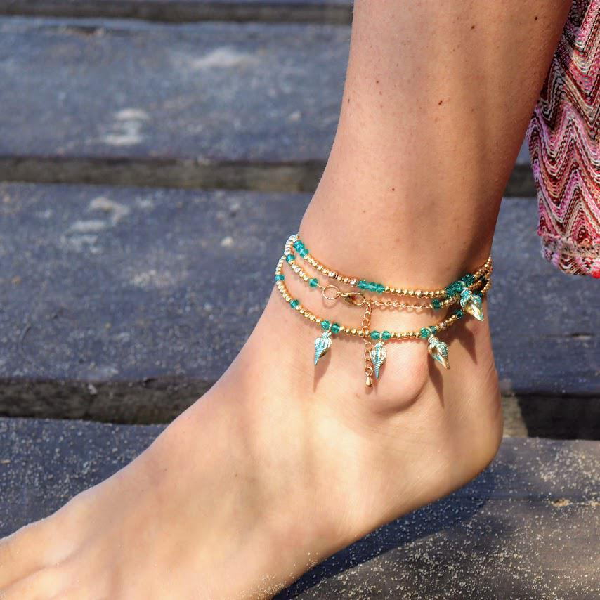 Handmade Anklet & Necklace Wrap