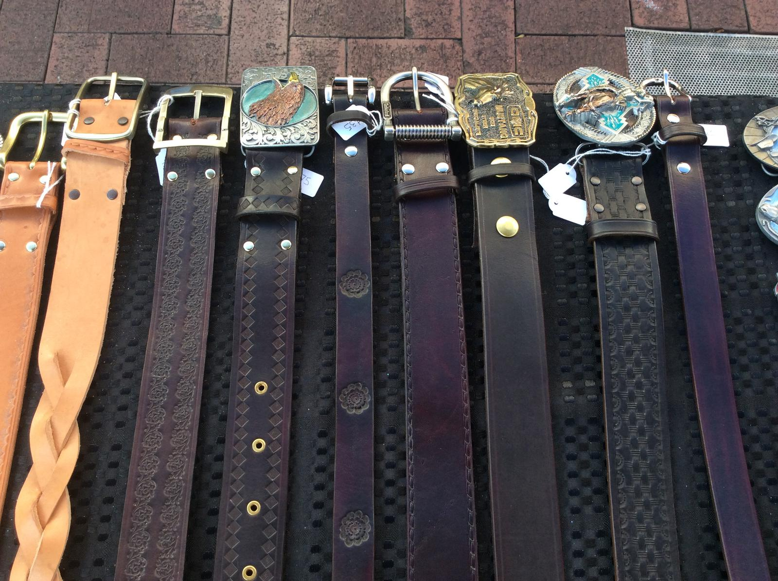 Pride Handcrafted Leather Belts