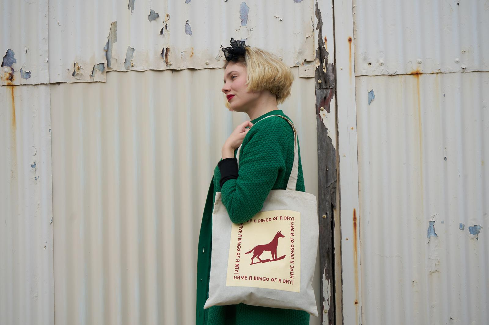 Have a Dingo of a Day Tote Bag