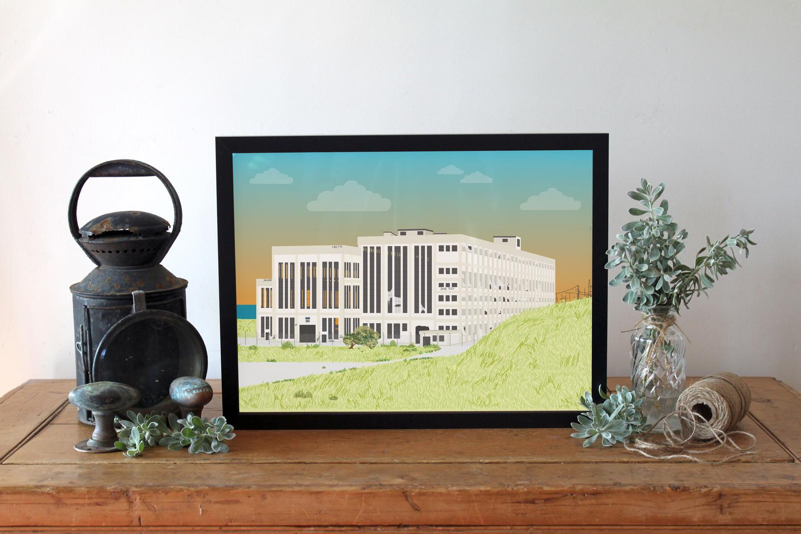Coogee Power Station Print