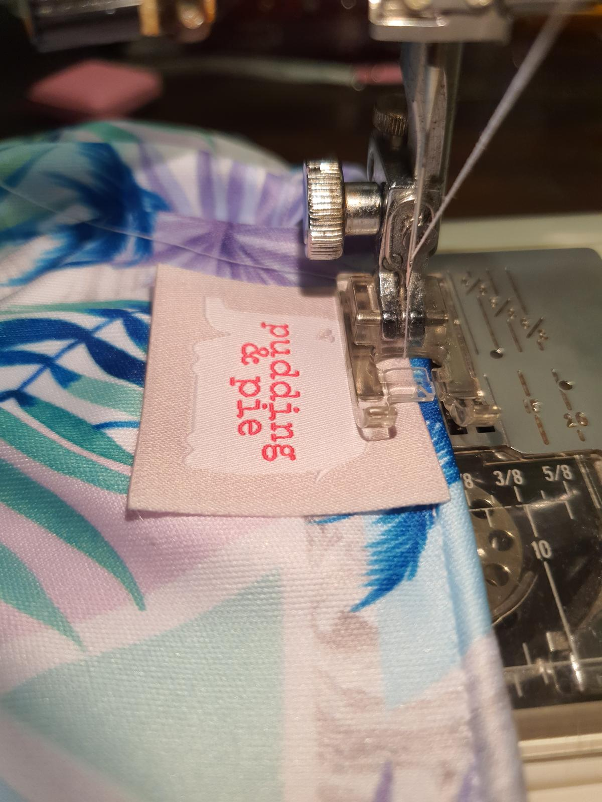 Label Sewing