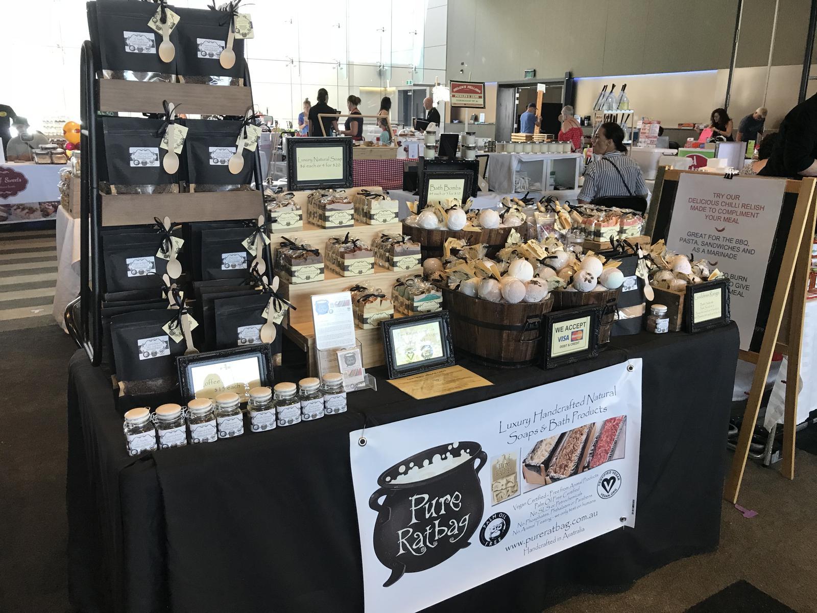 market set up
