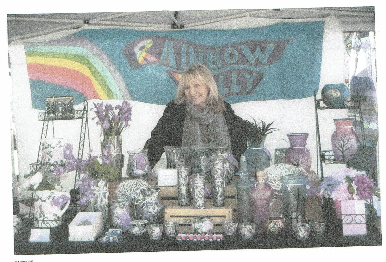 Rainbow Vally Designs stall picture