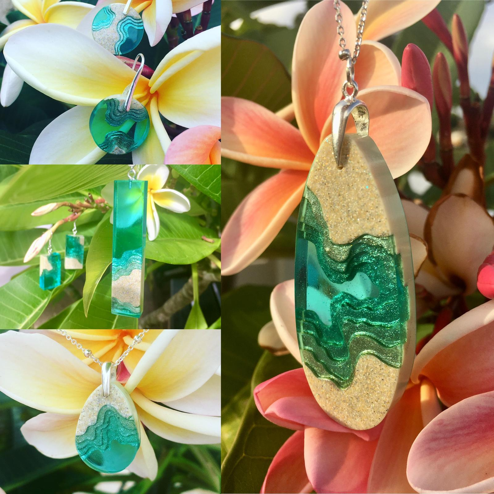 'Ocean Island' jewellery