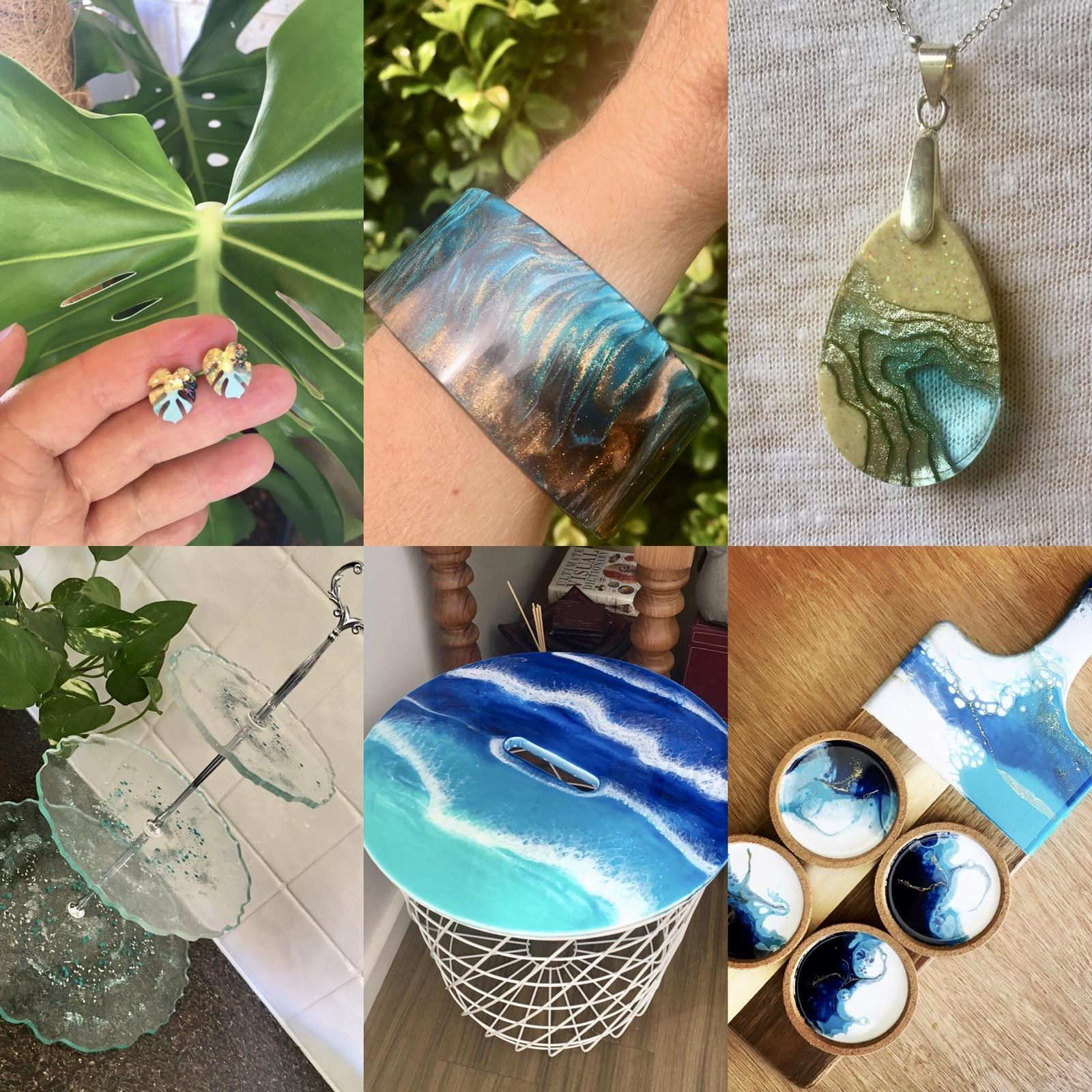 Resinating Blue - Resin homewares & jewellery