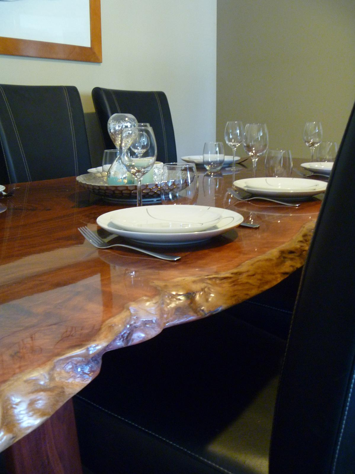 Jarrah dinning table