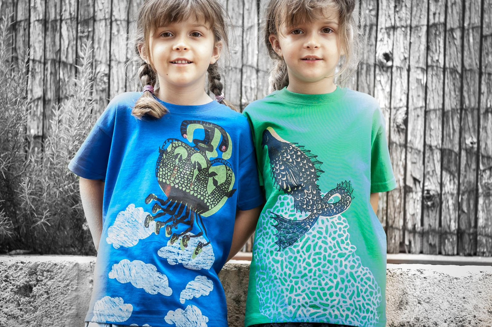 Rocucu kids tees