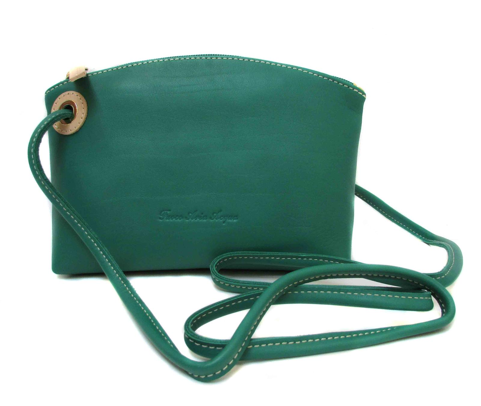 Small handbag with extension strap