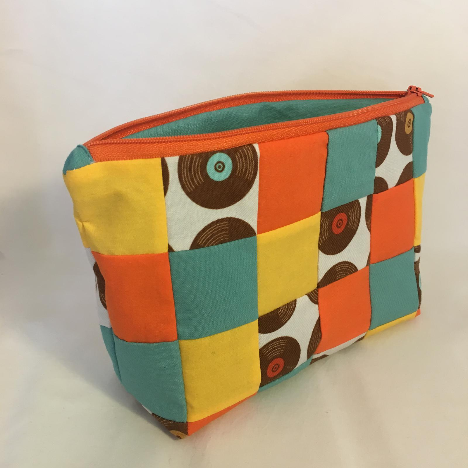 New Patchwork Pencil Case