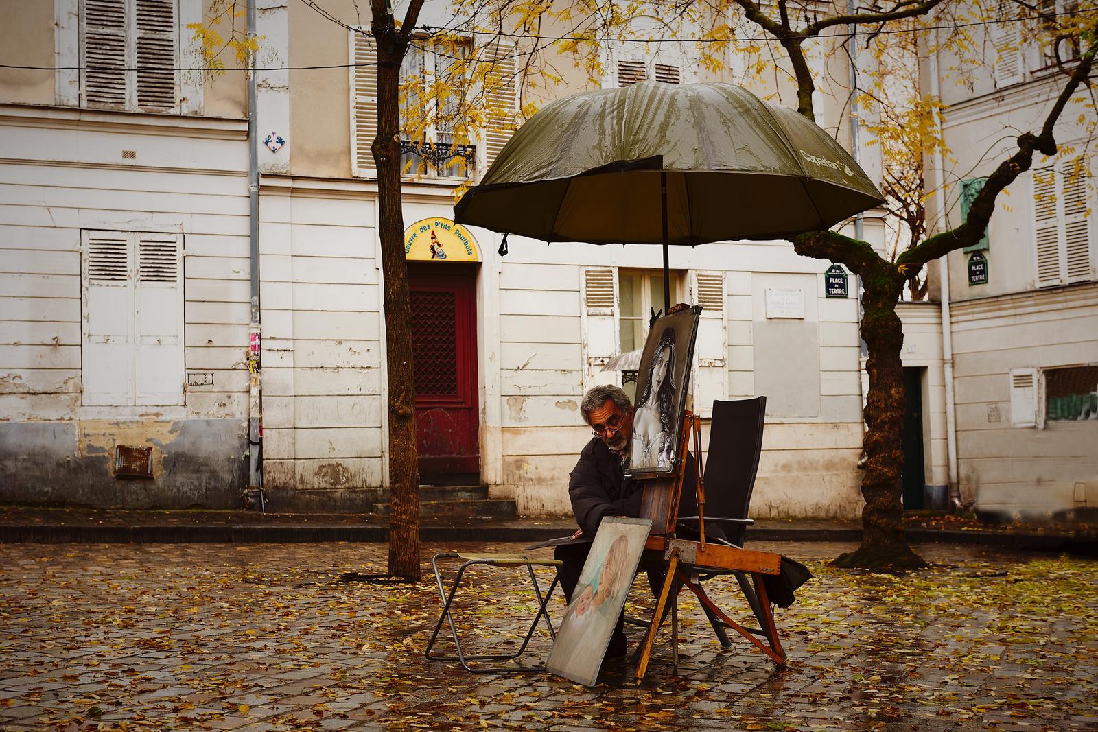 Artist Montmartre Paris