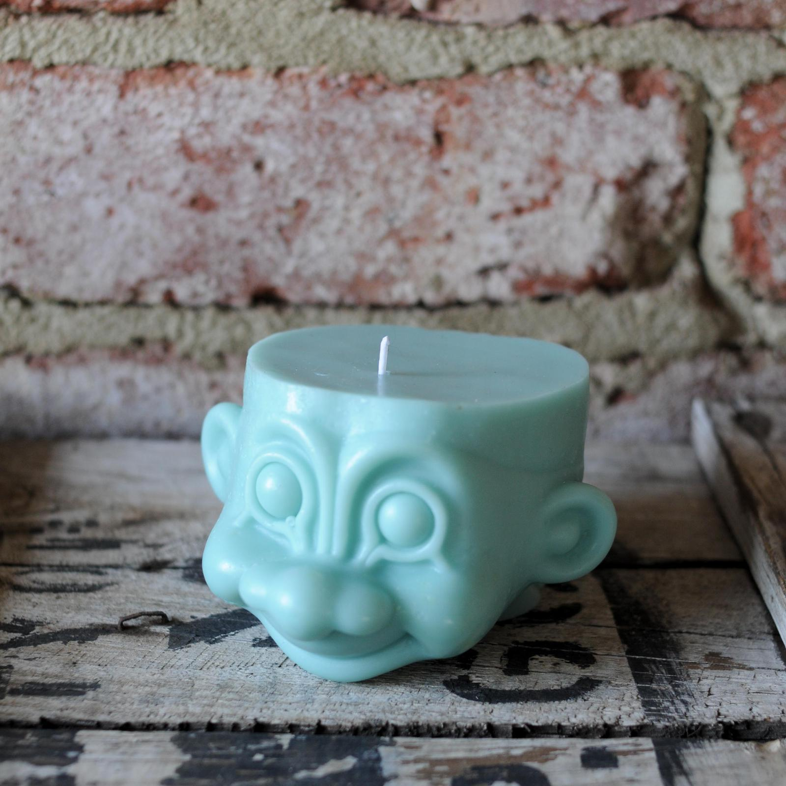 Troll Pillar Soy Candles - a collaboration with When Cara Met Rex & TerrAIRiumWA