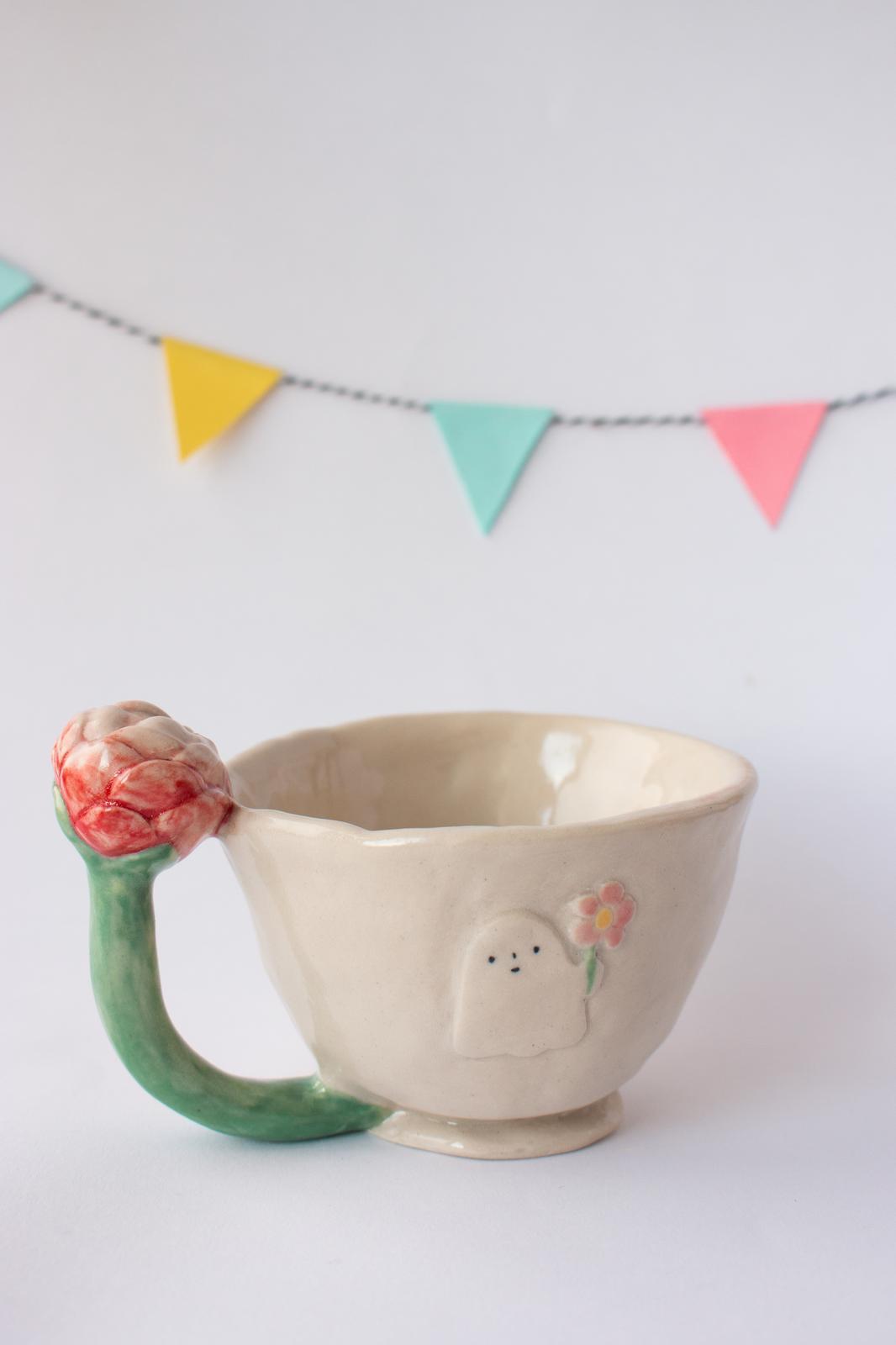Ghost Teacup