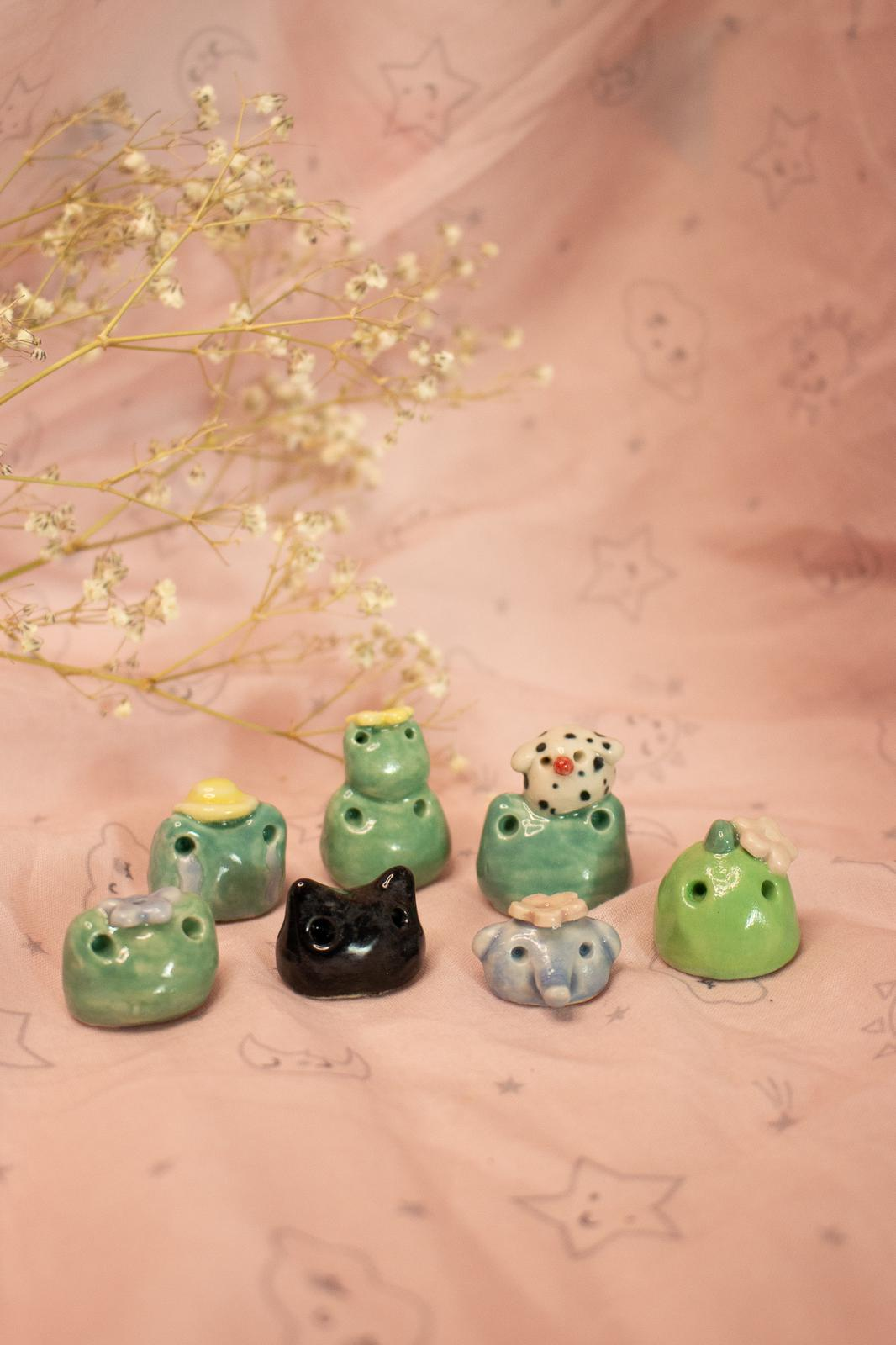 Froggy 'n' Friends Incense Holders