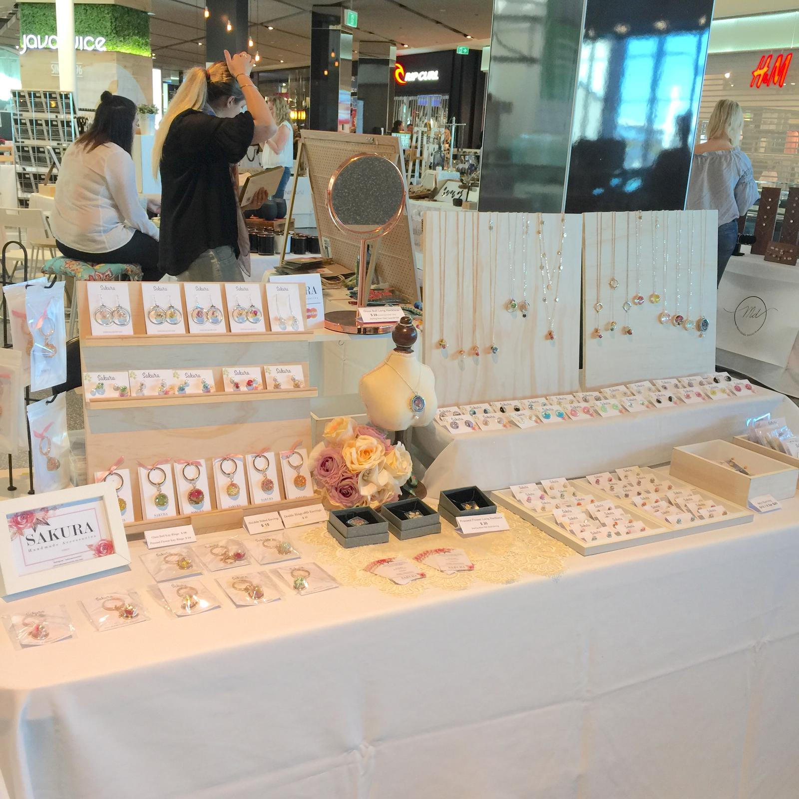 Sakura Stall Display