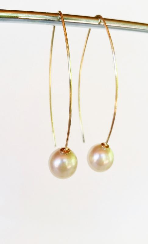 High quality fashionable pearl earrings