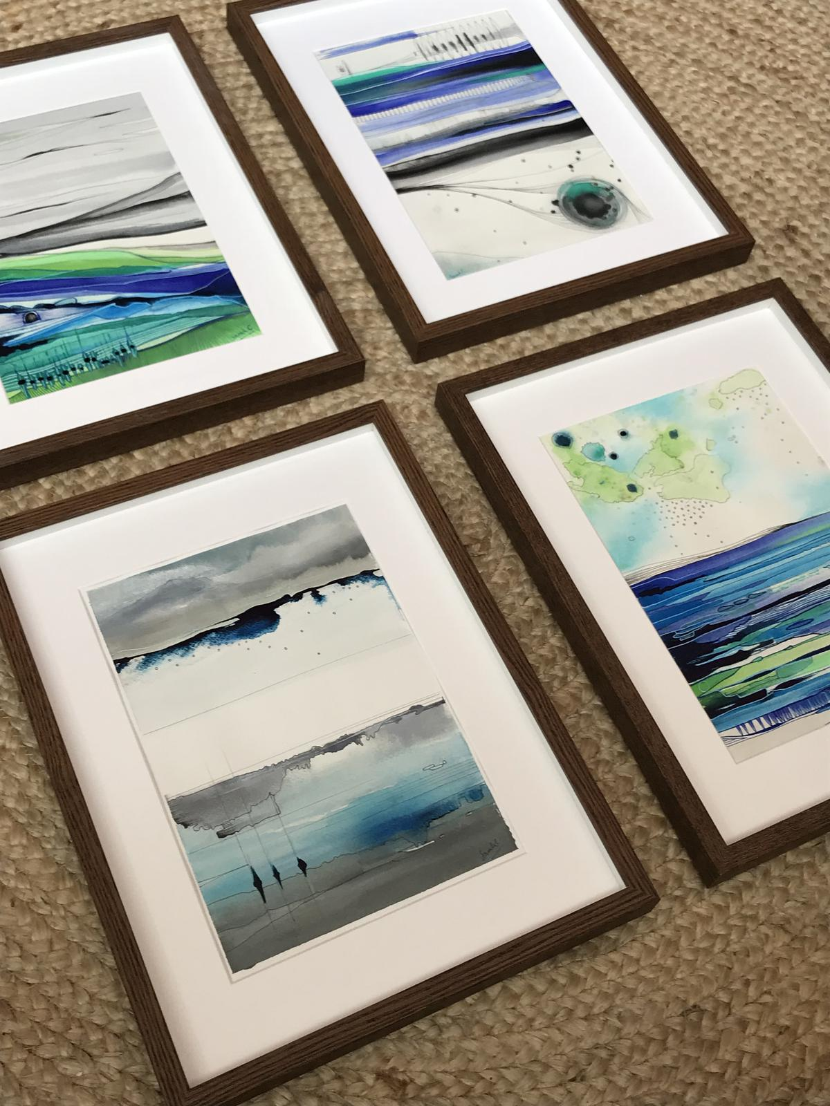 Original framed paintings