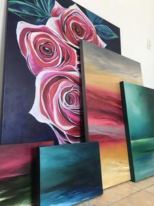 Sarah Carlton Art.