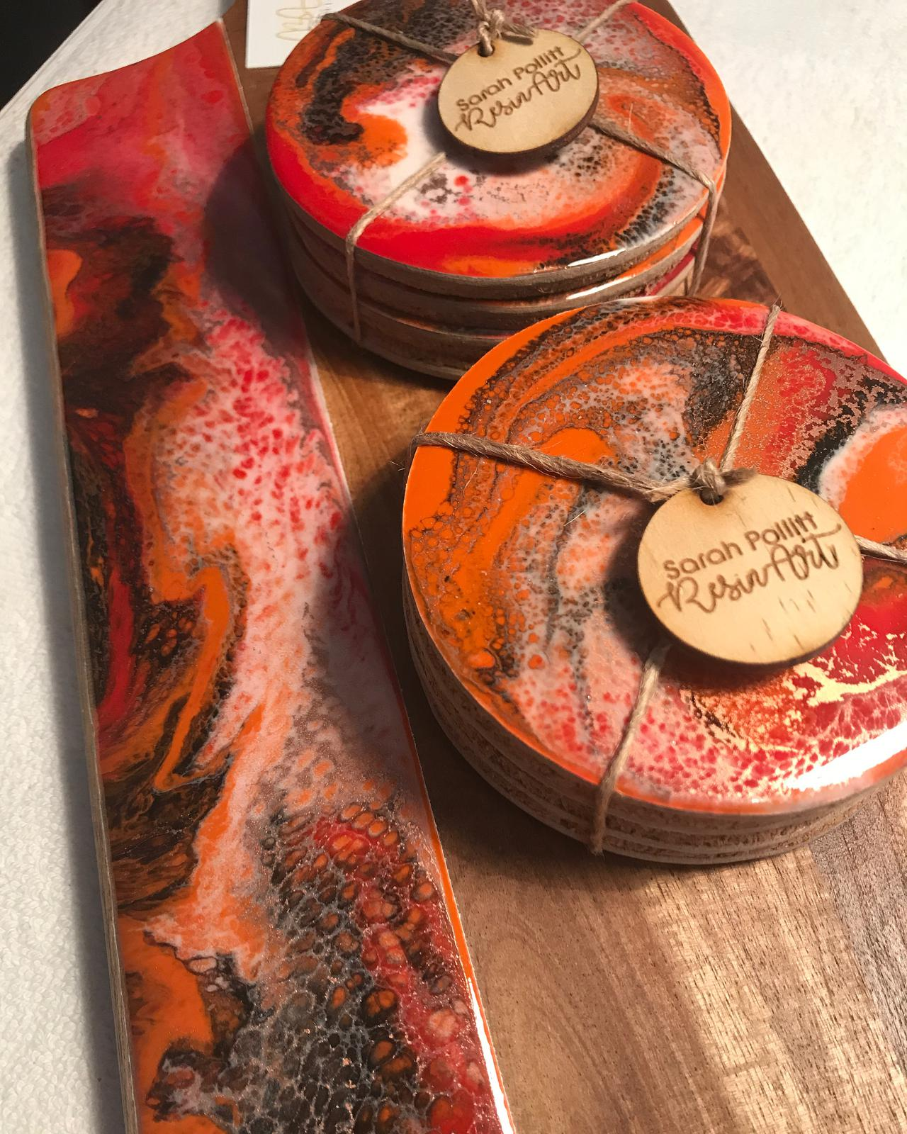 Cheeseboards and coasters