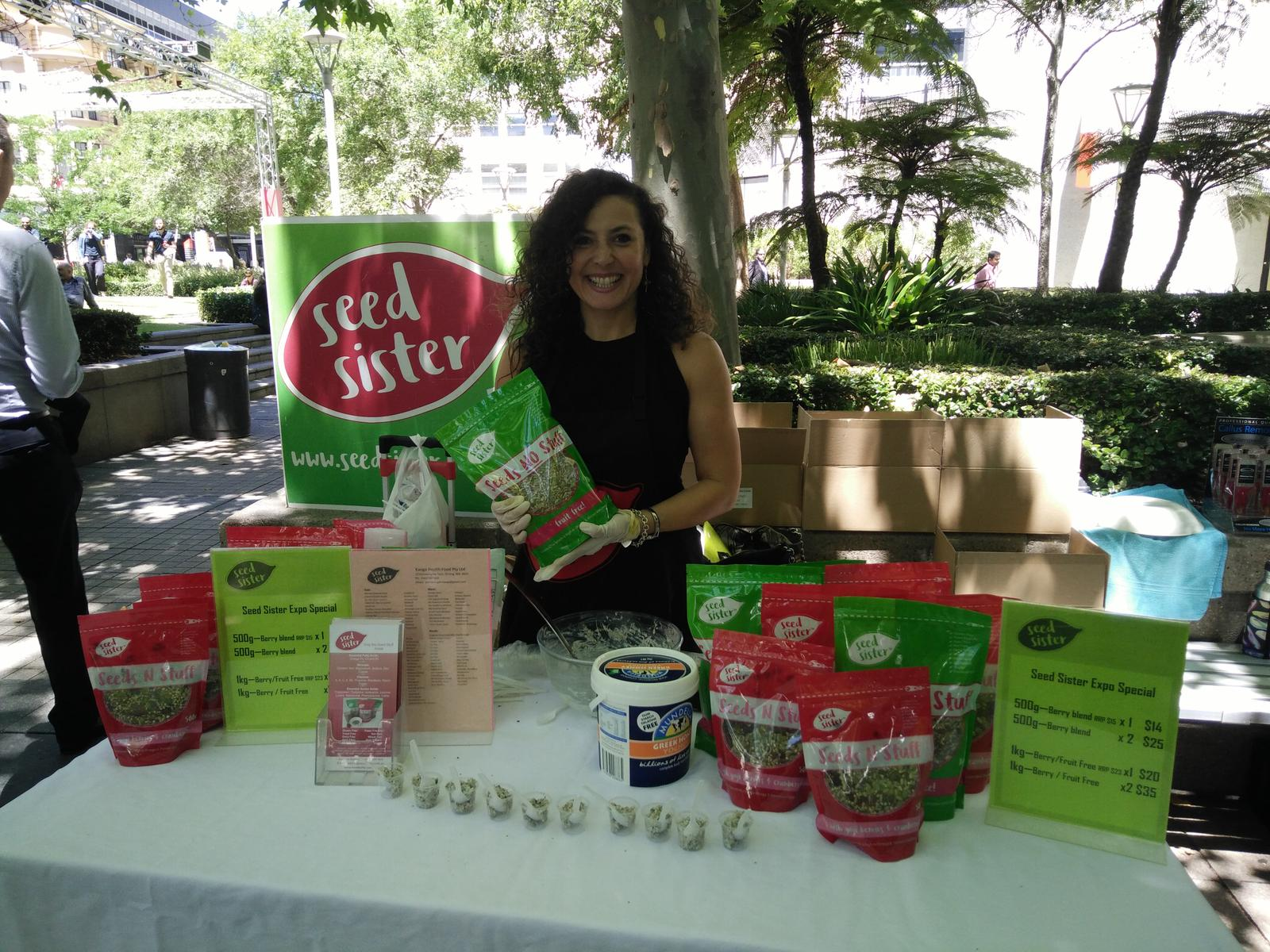 Seed Sister at Central Park
