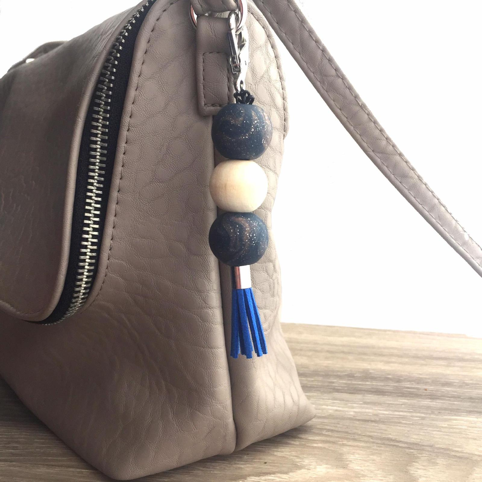 Handmade Polymer Clay Bag Accessory