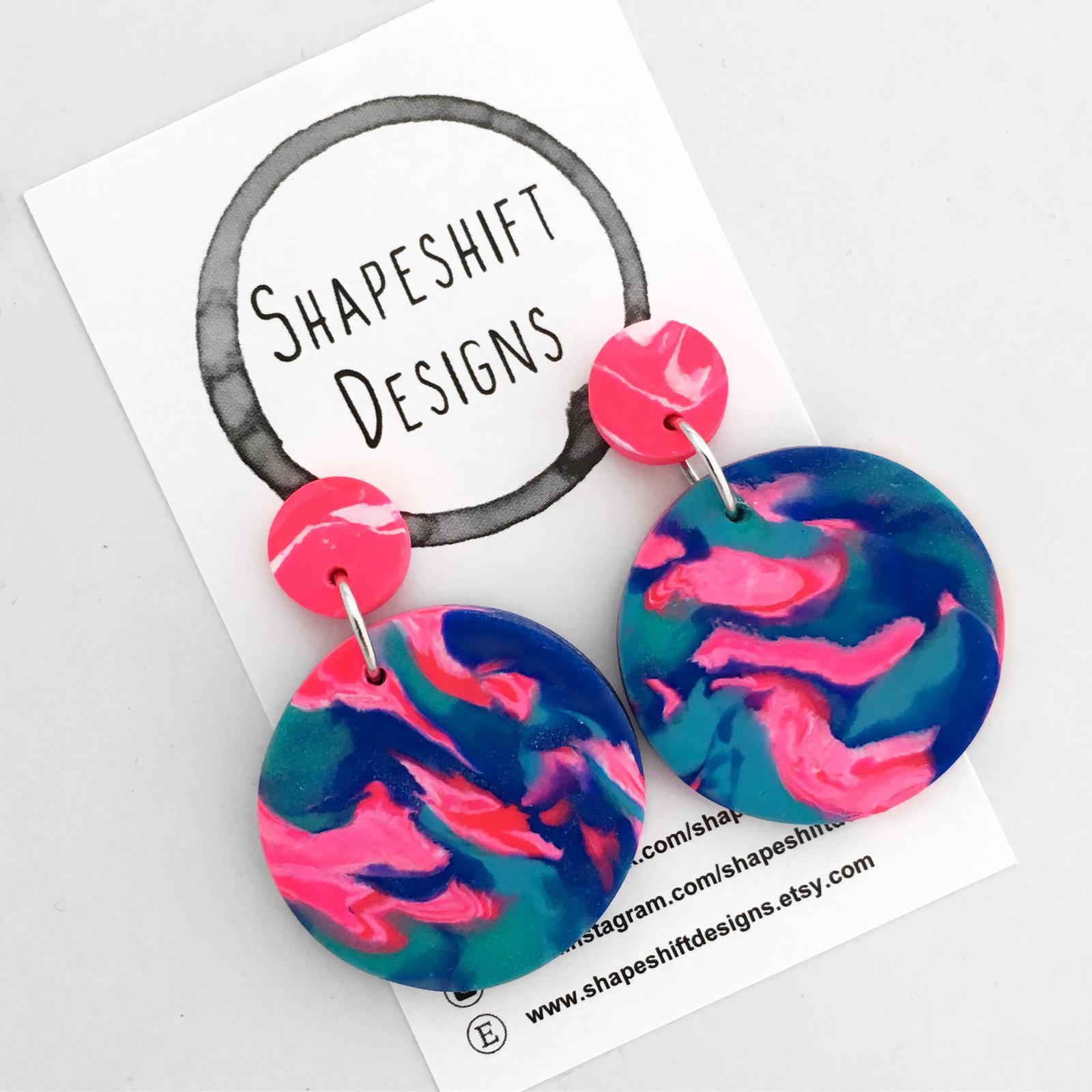 Handmade Polymer Clay Earrings