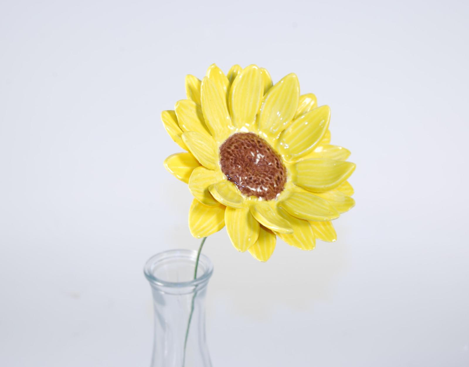 Ceramic Sunflower