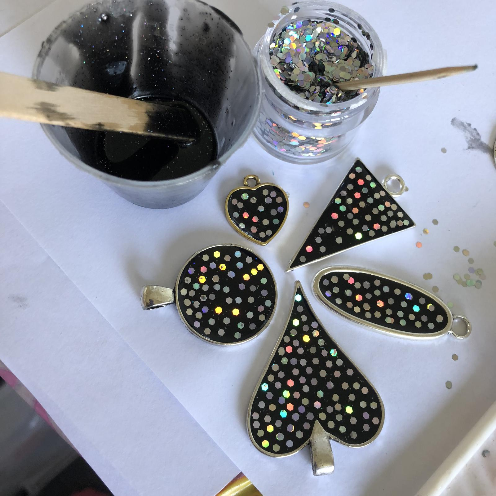 Pendants in the making